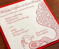 jessica letterpress wedding invitation by invitations by ajalon
