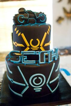 A TRON cake