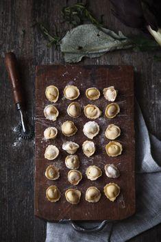 Pasta fresca Ravioli con carciofi e mozzarella di bufala affumicata-5 #pastafoodrecipes
