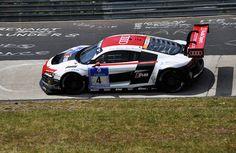 Audi R8 GT3 at Karussell Corner