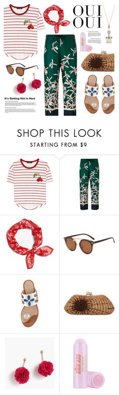 """Untitled #876"" by watereverysunday ❤ liked on Polyvore featuring Dolce&Gabbana, Moncler, rag & bone, Kayu, Chanel, J.Crew, Soap & Glory and Oui"