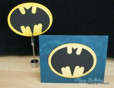 Stamp & Scrap with Frenchie: Batman Punch Art Video