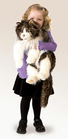 PuppetU.com - Folkmanis Cat Ragdoll Hand Puppet, $31.49 (http://store.puppetu.com/products/Folkmanis-Cat-Ragdoll-Hand-Puppet.html/)