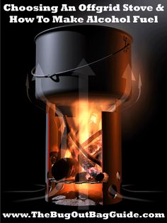 Lightweight, reliable cooking stoves that fit in your bug out bag plus DIY fuel instructions