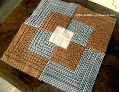 libélulas lilas y botones azules: más almazuelas Boro, Cabin, Quilts, Blanket, Rugs, Home Decor, Tela, Sewing Tutorials, Buttons