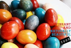 Easter Eggs: How to Dye Eggs Naturally Using Food Colors