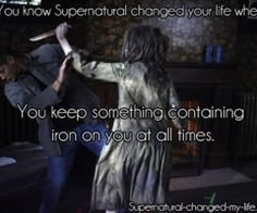 You know Supernatural changed your life when...   via Tumblr