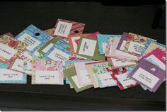 Chore chart chore cards