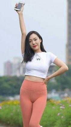 Cute Asian Girls, Beautiful Asian Girls, Beautiful Women, Persian Girls, Beautiful Girl Body, Asian Eyes, Lingerie Outfits, Just Girl Things, Leggings Fashion