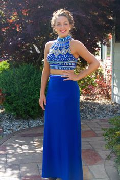 bdfbc2a787 Two Pieces Prom Dresses Prom Dress Evening Gown For Wedding Party