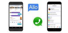 Google Allo ya esta disponible, ¿un rival para Whatsapp? - http://www.actualidadgadget.com/google-allo-ya-esta-disponible-rival-whatsapp/