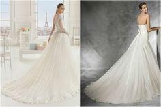 Escoge el largo de la cola de tu vestido de novia - bodas.com.mx