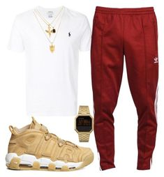 """biggie"" by dominic-gill on Polyvore featuring NIKE, Polo Ralph Lauren, adidas, Nixon, men's fashion and menswear"