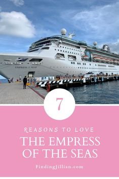 7 Big Reasons to Love Empress of the Seas Considering a cruise on Royal Caribbean's Empress of the Seas? Here are 6 Big Reasons to love the charming Empress of the Seas. Crucero Royal Caribbean, Royal Caribbean Oasis, Cruise Tips Royal Caribbean, Royal Caribbean International, Caribbean Drinks, Caribbean Honeymoon, Caribbean Food, Honeymoon Cruise, Cruise Travel