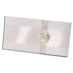 Exklusive Einladungskarten Mit Zierperle U0026 Weißer Feder   Sehr Elegant! |  Exklusive Hochzeitkarten / Hochzeitseinladungen   Hochzeitstrends 2017 |  Pinterest ...