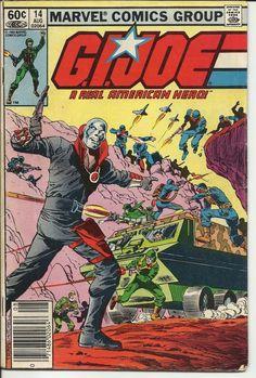 GI Joe A Real American Hero Marvel Comic Vol 1, No 14, August 1983