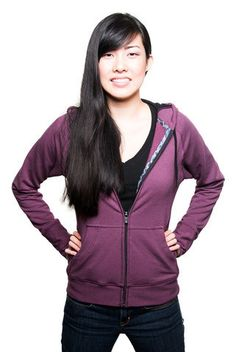 Kaikuna.com's Bamboo Hoodie is a semi-fitted, hip length jacket. Eco-friendly, travel friendly, ethically made in the USA. #ShopifyPicks