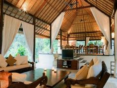 Denpasar Modern Balinese Style Home - The Sukhavati Estate - Villa Rentals,