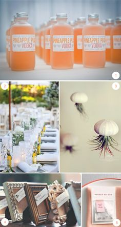 10 DIY Wedding Favors by laurensaylor for Julep Diy Wedding Favors, Wedding Tips, Wedding Events, Wedding Bells, Wedding Engagement, Our Wedding, Pineapple Vodka, Peach Vodka, Marrying My Best Friend