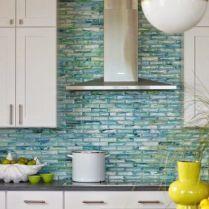 49 Ideas Blue Backsplash Kitchen Turquoise Back Splashes 136 Glass Tiles Kitchen Glass Tile Backsplash Kitchen Blue Backsplash Kitchen