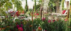 The Turkish Ministry of Culture & Tourism: Garden of Paradise at the RHS Hampton Court Palace Flower Show 2015.