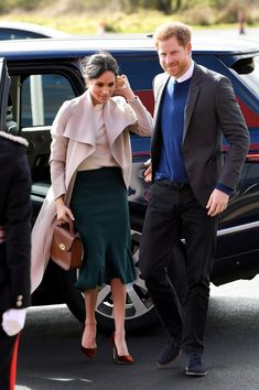 Meghan Markle Outfit in Ireland March 2018 | POPSUGAR Fashion Photo 1
