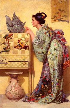 Japonisme. Paintings of Beautiful Women James Tissot