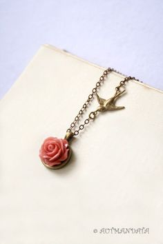Be my rose -- necklace