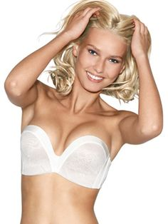 Ultimate Strapless Lace Bra with unique hand tech support.