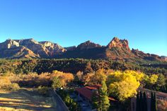 Beautiful mystical Sedona.  A room with a view :-)