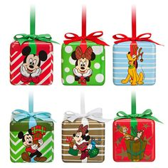 Mickey Mouse and Friends Cube Ornament Set