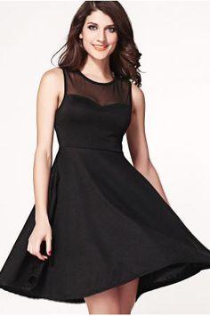 Vestido de vuelo Romántico Lazo - Corsets online lenceria vestidos