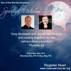 #JamesVanPraagh and #TonyStockwell together, on stage, May 3rd, May 5th-May 9th, Phoenix