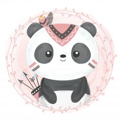 Cute bear panda with rainbow kawaii birthday card Panda Illustration, Chicken Illustration, Panda Wallpapers, Cute Wallpapers, Cartoon Cartoon, Kawaii Drawings, Cute Drawings, Cute Images, Cute Pictures