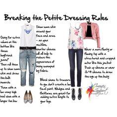 kledingregels voor de kleine vrouw