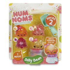 Num Noms Series 2 Scented Jelly Bean Playset - 4 Pack