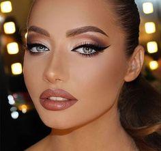Makeup by Talal Morcos Girls Makeup, Glam Makeup, Love Makeup, Bridal Makeup, Wedding Makeup, Beauty Makeup, Hair Makeup, Hair Beauty, Pinterest Makeup