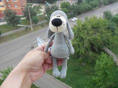 СВ Фантазия. Собачка Баффи | Лёлины ПеченЬки. Мастерская вязаной игрушки