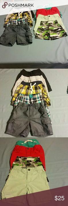 Boys shorts bundle Shorts bundle Gymboree, Crazy 8, Carters, Cherokee, Baby Gap, OshKosh Bottoms Shorts