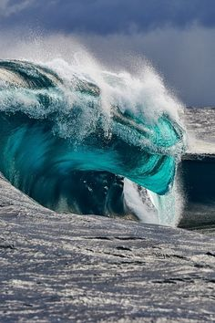 Wave by Russel Ord It looks like a water Dragon's head!
