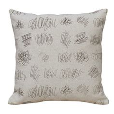 I pinned this Scribbles Pillow from the Artist's Loft event at Joss and Main!