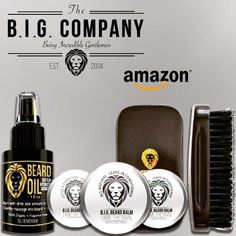 Balm Free Comb Obedient Hand Crafted Caveman® Beard Oil Set Kit Beard Oil Health & Beauty Hair Care & Styling