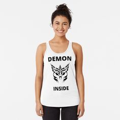 Demon Inside : O - Get yourself a funny custom desing from RIVEofficial Redbubble shop : )) .... tags: #demon  #inside #inner #monster #halloween #2020 #spooky #funny #humour #giftideas #beast #creepy #design #creature #cool #badass #shirtsonline #trends #riveofficial #favouriteshirts #art #style #design #nature #shopping #insidecollection #redbubble #digitalart #design #fashion #phonecases #access #customproducts #onlineshopping #accessories #shoponline #onlinestore #shoppingonline Sweatshirt Outfit, T Shirt Diy, T Shirts With Sayings, Racerback Tank Top, Mens Sweatshirts, Shirt Designs, T Shirts For Women, Tank Tops, Funny Humour
