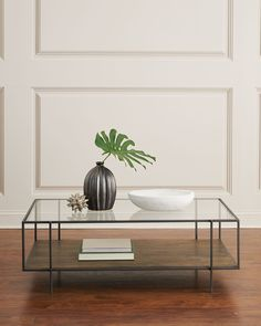 Coffee Table Design, Coffee Table Styling, Diy Coffee Table, Decorating Coffee Tables, Modern Coffee Tables, Glass Coffee Tables, Glass Tables, Metal Wood Coffee Table, Modern Table