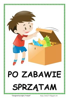 BLOG EDUKACYJNY DLA DZIECI Learn Polish, Polish Language, Teacher Inspiration, 100 Words, Kindergarten Classroom, School Projects, Kids And Parenting, Kids Room, Crafts For Kids