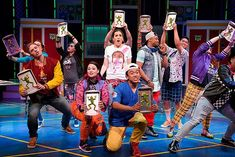 THE BAY AREA PREMIERE OF DISNEY'S FREAKY FRIDAY FEATURES IS A NON STOP POP ROCK SCORE AND A FUN CAST | blog Freaky Friday Musical, Candy Costumes, Disney Charms, Jodie Foster, Non Stop, Grunge Look, Pop Rocks, Costume Design, Musicals