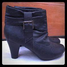 "Selling this ""Madden girl booties"" in my Poshmark closet! My username is: ekosi21. #shopmycloset #poshmark #fashion #shopping #style #forsale #Madden Girl #Boots"