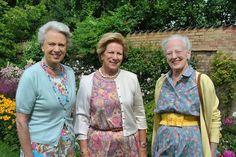 Three sisters, Queen Margrethe, Princess Benedikte, Queen Anne-Marie
