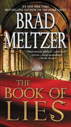 The Book of Lies by Brad Meltzer, http://www.amazon.com/dp/B001ANYCXC/ref=cm_sw_r_pi_dp_jRX5sb14D36GA