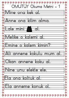 1. Sınıf Omutüy Okuma Metni – 1 pdf formatında özgün bir çalışmadır. Ekte sunulan dosyayı indirebilirsiniz. 1. Sınıf omutüy Okuma Metni – 1..